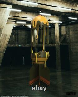 Mighty Jaxx Melting Missile Action Limitée Figurine Mode Hot Toy Nouveau En Stock