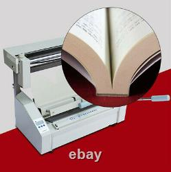 Mise À Niveau De La Machine De Reliure De Livre A4 Chaud Fondre Adhésif Livre De Papier Reliure Piercer