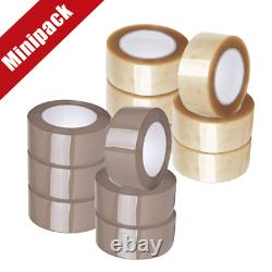 Nastro Imballaggio Minipack 6 Ppl Hot Melt 48 MM X 132 MM 28 Mon Trasparente