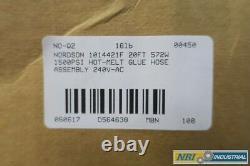 Nordson 1014421f 240v-ac 20ft 572w 1500psi Collure De Fusion Chaude