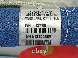 Nordson 274790 Colle Chaude Tuyau 2ft 240vac 56w 10.3mp 1500 Psi