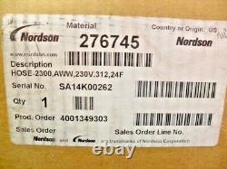 Nordson 276745 Tuyau De Fusion Chaud Chauffé Dans La Boîte D'usine Nouveau