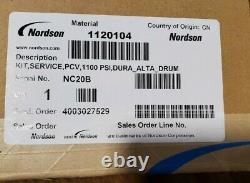 Nordson D16 Hot Melt Parts Lot Comprend Régulateur, Chauffe-réservoirs, Et Chauffe-pompe