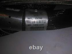 Nordson Inutilisé 12' Hot Melt Adhesive Hose Model # 274795d, Rectangle Plug