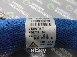 Nouveau 1033369 Nordson Hot Melt Glue Tuyau 30 Pieds 1500 Psi