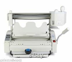 Nouveau 4 En 1 Thermofusible Colle Livre Relieuse Binding Machine A4 Size 220 V