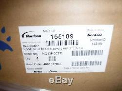 Nouveau Dans La Boîte Rediflex Série Bleu Nordson 155189 Thermofusibles Tuyau 24ft, 240v, 760w
