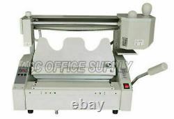 Nouveau Livre Sans Fil A3 Binding Machine Hot Melt Glue Book Paper Binder 110v/400w
