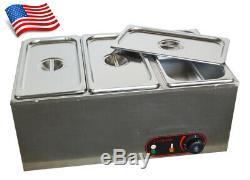 Nouveau Modèle Trois Pan Chocolat Fondant Électrique Fusion Machine Hot Melt Pot USA
