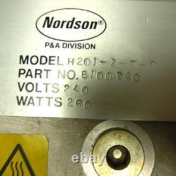 Nouveau Nordson H201-z-t-f Hot Melt Handgun 810076c