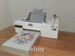 Nouveau Style Modifié Imprimante L1800 Dtf Avec Film Pet, Encre Chaude Poudre Adhésive Fondante