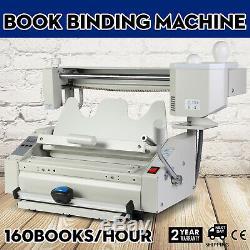 Nouvelle Machine À Relier Parfaite 110v De Reliure À Livre De Colle De Fonte Chaude
