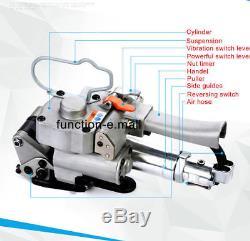 Nouvelle Machine De Cerclage Pneumatique Hot Binder Binder Baler Pet / Pp Outils De Cerclage