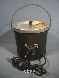 Nouvelle Melting Waage Coating Hot Dip Tank Pot Single Phase 115v Wp8a 1250 Watts Nos