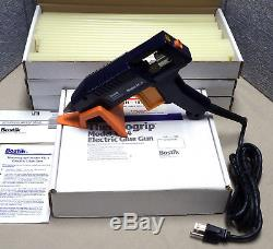 Pistolet À Colle Thermofusible Bostik Tg4 Industriel & 150 Bâtons De Colle À Usage Intensif 12x15 Nos