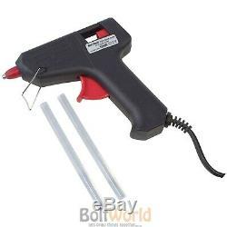 Pistolet À Colle Thermofusible Grip 10w + 3 Ans De Garantie Constructeur + 2 Bâtons Gluaux