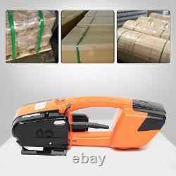 Plastic Steel Belt Hot-melt Baler Electric Strapper Strapping Machine 13-16mmnew