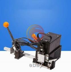 Portable Electric Melting Baler Manuel Hot Melt Packing Strapping Machine 220v