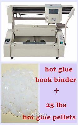 Reliure Rigide À Reliure Cartonnée Pour Machine À Relier A4 Book + Pastilles De Colle Pour La Fusion À Chaud