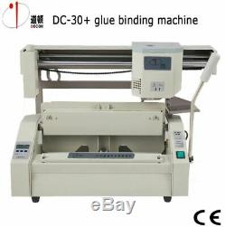 Sans Fil A4 Taille Du Livre Reliure Machine Colle Chaude Livre Papier Binder Puncher Us