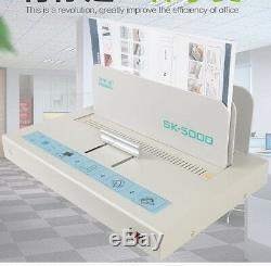 Sk-5000 Électrique De Bureau Colle Chaude À Relier Reliure Machine Pour Papier A4