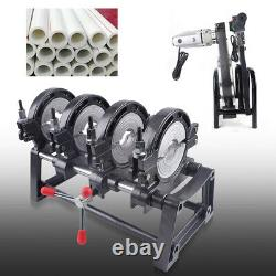 Soudage Manuel De Soudure De Tuyau De Fusion 4 Pinces Pe Hdpe Pp Piping Hot Melt Machine