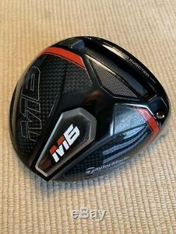 Taylormade M6 Pilote Head 10,5 Thermofusible! Avec Headcover Et L'outil