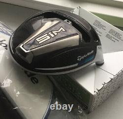 Tour Issue Taylormade Sim Driver 10.5 + Hc Head Only Hot Melt Face Ftuo