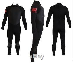 Toutes Tailles Veste Hiver 4/3 Combinaison De Surf Backzip Sur Les Coutures Thermofusibles Gbs