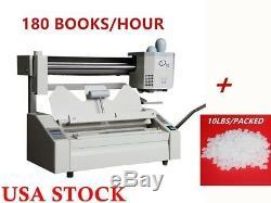 USA A4 Livre Reliure Machine De Colle Chaude Livre Binder + 10lbs Hot Les Pellets De Colle De Fusion