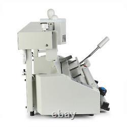Vevor A4 Machine De Reliure Parfaite Colle Chaude Collant Côté Binder Avec LCD