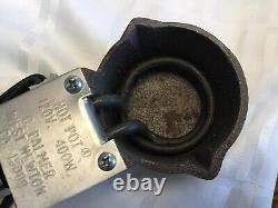 Vintage C. Palmer Hot Pot Lead Melting Pot Lead Furnace Fabriqué Aux États-unis 400w Nib Nouveau